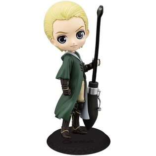 Фигурка Драко Малфой с метлой: Гарри Поттер (Draco Malfoy: Harry Potter) Qposket 15 см.