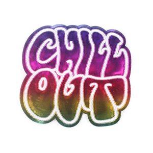 Нашивка Chill Out 9 см.