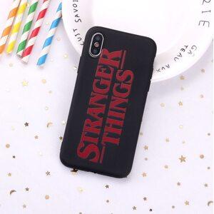 Чехол Stranger Things iPhone XR