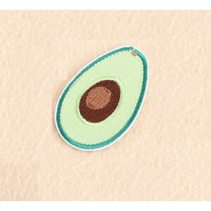 Нашивка Авокадо 7 см.