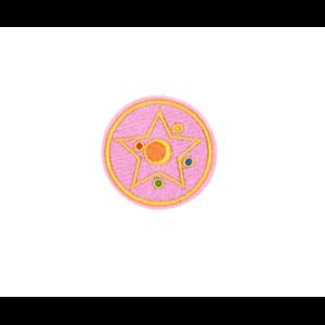 Нашивка Кристальная Звезда 5 см.