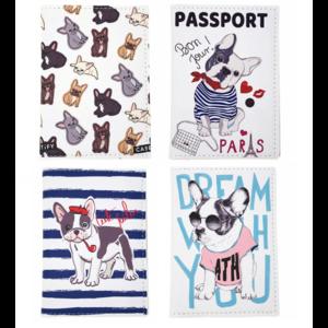 Обложка на паспорт Бульдог в ассортименте