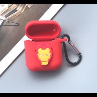 Чехол на AirPods Железный Человек квадратный