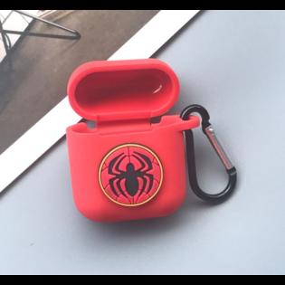 Чехол на AirPods Человек Паук лого