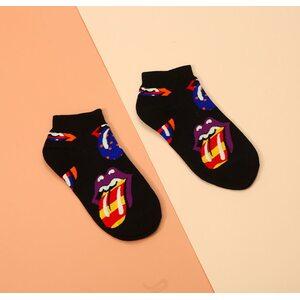 Носки Rolling Stones черные низкие