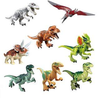 Фигурка Lepin Динозавр в ассортименте (набор 8 шт.)