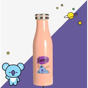 Термос-бутылка Koya BT21 розовый 500 мл.