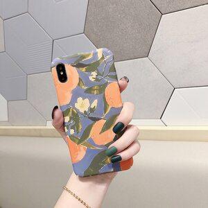 Чехол Апельсины iPhone X/XS