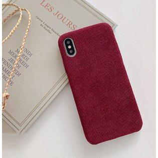 Чехол Вельветовый вишневый iPhone 11