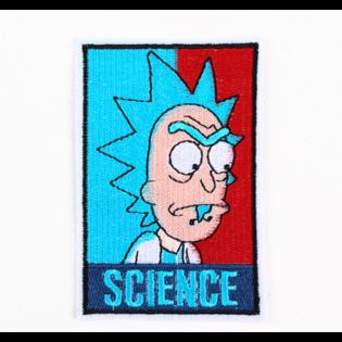 Нашивка Рик Science 12 см.