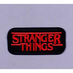 Нашивка Stranger Things 8 см.