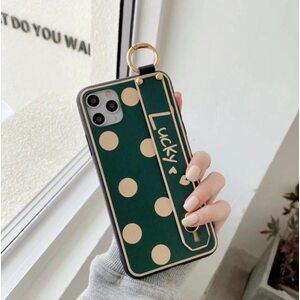 Чехол Lucky зеленый iPhone X/XS