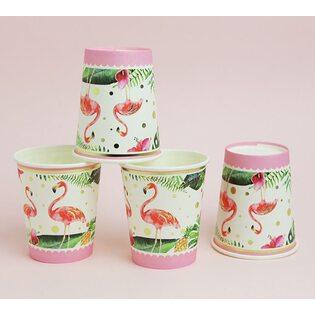 Набор Бумажных стаканчиков Фламинго (10 шт.)
