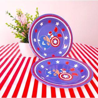 Набор Бумажных тарелок Капитан Америка (6 шт.) маленькие