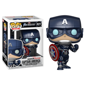 Фигурка Funko POP Капитан Америка: Мстители Игра (Captain America: Avengers Game 627) Original