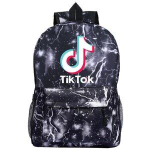 Рюкзак Tik-Tok черный