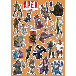 Стикерпак 031 Апекс (Apex).Формат А4