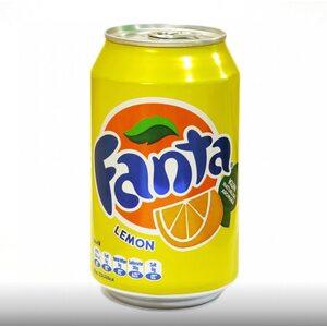 Газированный напиток Fanta Лимон 330 мл.