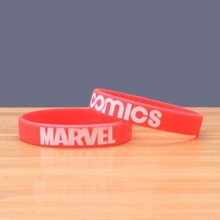 Браслет Марвел красный (Marvel)