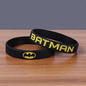 Браслет Бэтмен (Batman) черный