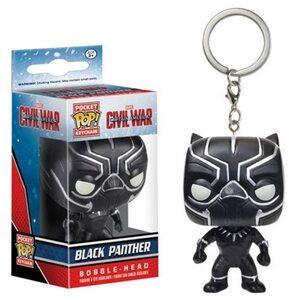 Брелок Funko POP Черная Пантера: Марвел (Black Panther: Marvel) Original