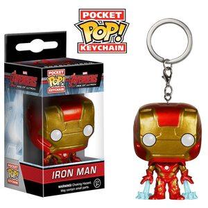 Брелок Funko POP Железный Человек: Марвел (Iron Man: Marvel) Original