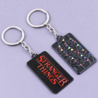 Брелок Очень странные дела (Stranger Things) черный