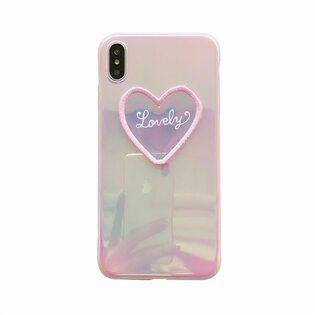 Чехол Lovely голографический iPhone X/XS