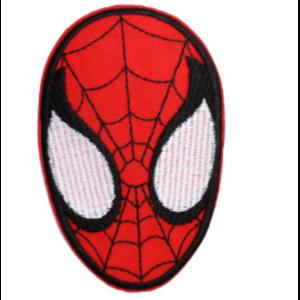 Нашивка Маска Человека паука 14 см.