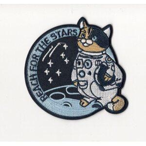 Нашивка Reach for the stars 8 см.