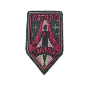 Нашивка Astral Traveler 9 см.