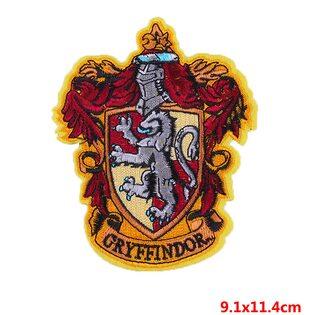 Нашивка Герб Гриффиндора 11 см.