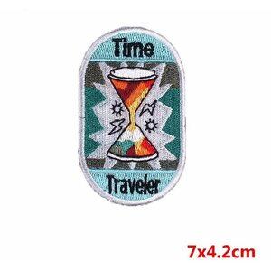 Нашивка Time Traveler 7 см.