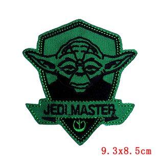 Нашивка Йода Jedi Master 9 см.