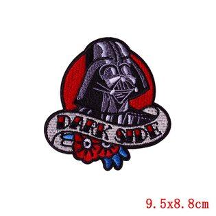 Нашивка Дарт Вейдер Dark Side 9,5 см.