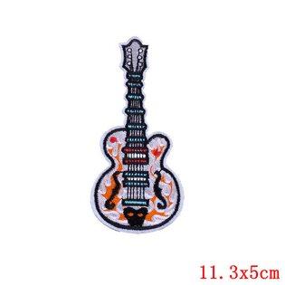 Нашивка Гитара 11 см.
