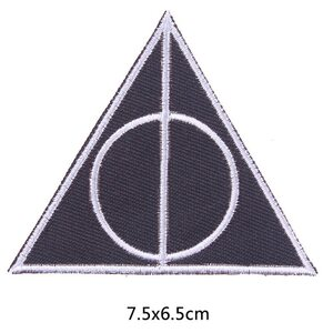 Нашивка Дары Смерти 6,5 см.