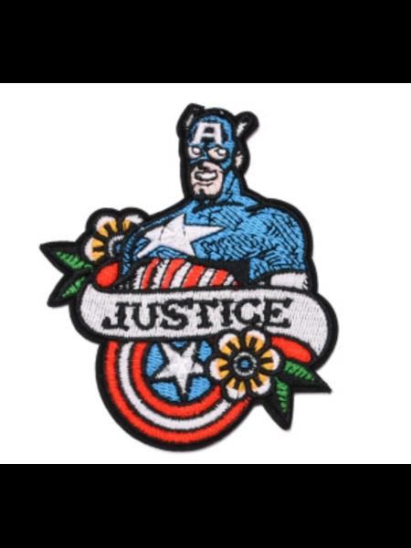 купить Нашивка Justice Капитан Америка 10 см., в Ростове с доставкой