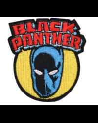 Нашивка Black Panther 8 см.