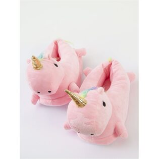 Тапочки Единорог розовые