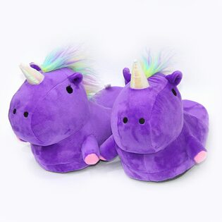 Тапочки Единорог фиолетовые (36-43)