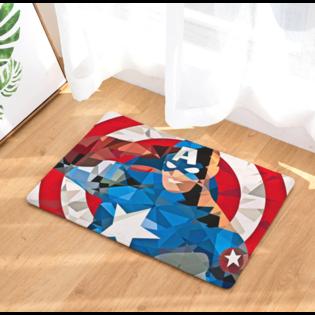 Коврик Капитан Америка абстракция 60х40 (Captain America)
