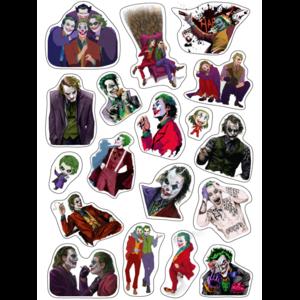 Стикерпак 019 Джокеры. Формат А4