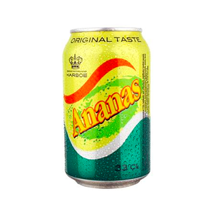 Газированный напиток Harboe Ananas 330 мл.