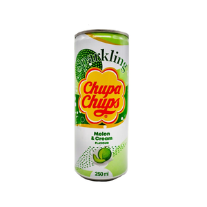 Газированный напиток Chupa-Chups Дыня Крем 250 мл.