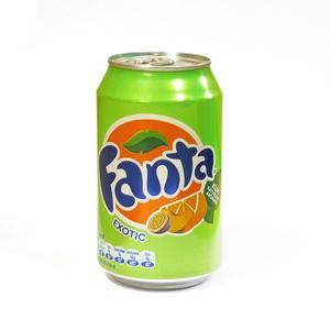 Газированный напиток Fanta Экзотический микс 330 мл.