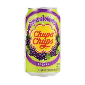 Газированный напиток Chupa-Chups Виноград 345 мл.