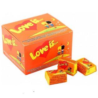 Жевательная резинка Love is.. со вкусом ананаса и апельсина