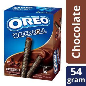 Вафельные трубочки Oreo шоколадные 54 гр.