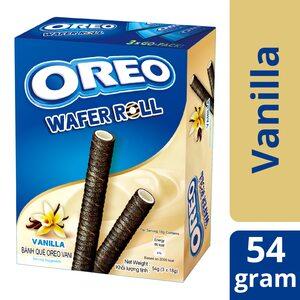 Вафельные трубочки Oreo ванильные 54 гр.
